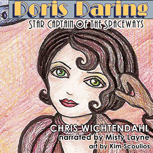 Doris Daring audiobook cover art