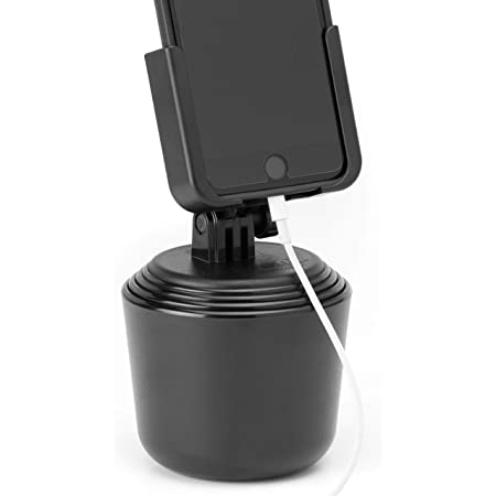 Black Car Cup Holder Mount Stand Cradle Universal For Mobile Phone GPS