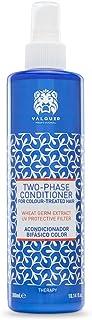 Válquer Acondicionador capilar bifásico Potenciador color y brillo (sin sulfatos sin colorantes sin sal sin parabenos ...