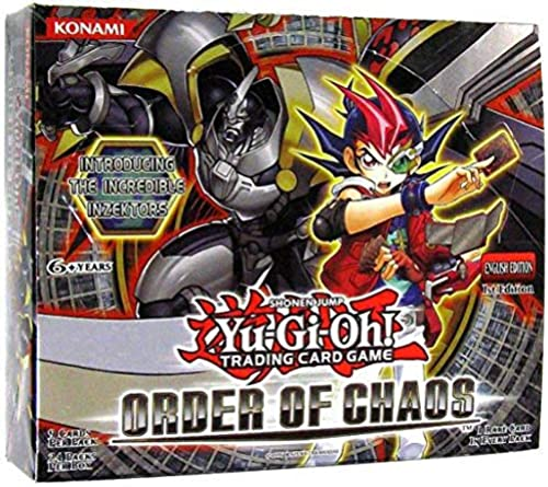 YuGiOh Order of Chaos Booster Box 24 Packs [Toy] [Spielzeug]