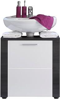 Trendteam Smart Living Meuble Sous-Vasque pour Salle de Bain Xpress, 60 x 62 x 35 cm, Panneau Avant et Corps du Meuble: F...