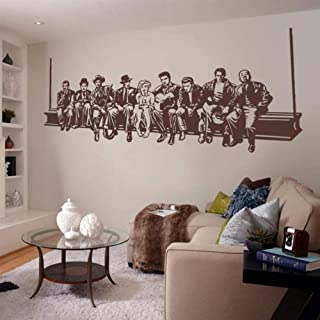 Hollywood déjeuner sticker mural star de cinéma stickers muraux american home murale maison décoration salon chambre autoc...