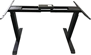 Rise UP Dual Motor Electric Adjustable Height Width Standing Desk Frame with Memory Premium Quality sit Stand up Ergonomic...