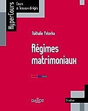 Livres Régimes matrimoniaux - 5e ed. PDF