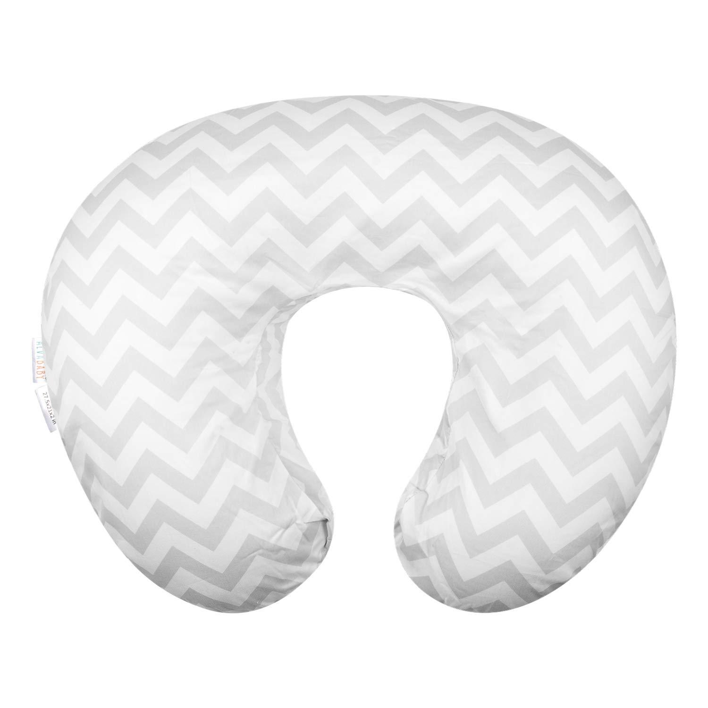 Nursing Pillow Slipcover Ultra Soft Snug Fabric Pillowcase Infant Newborn Feeding Cushion Cover A Stretchy Breastfeeding Pillow Slipcover Aimik Nursing Pillow Cover