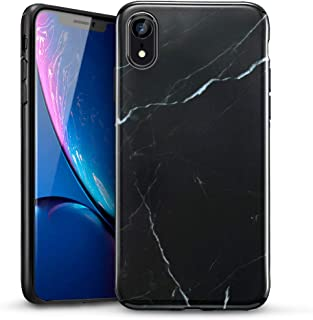 coque marbre iphone xr rouge