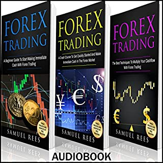 Forex Trading: Ultimate Beginner Guide audiobook cover art