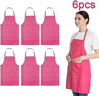 hot pink apron