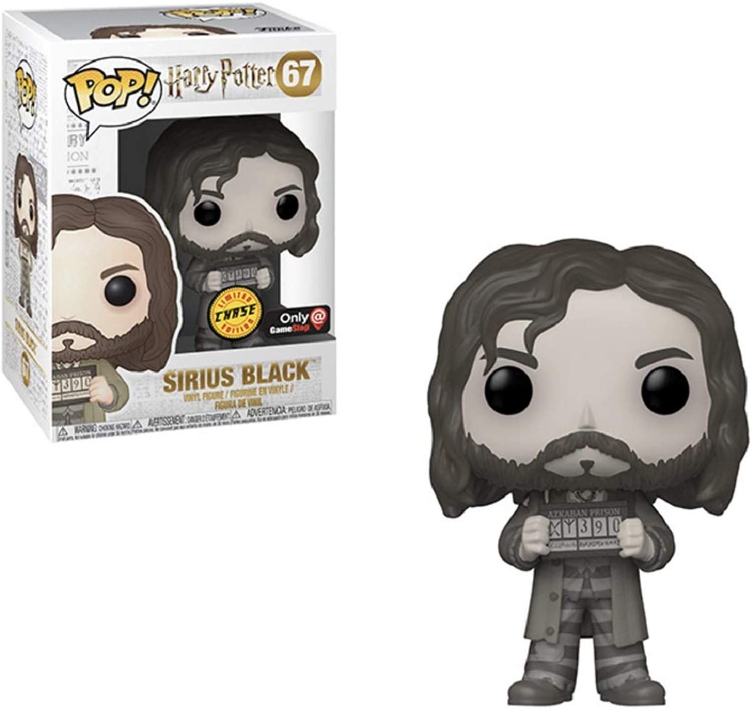 Funko Pop  Harry Potter Sirius Black Chase Edition Limited