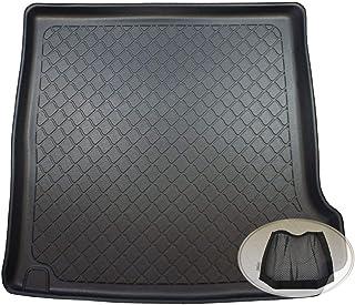 ZentimeX Z3128404 Gummierte Kofferraumwanne fahrzeugspezifisch + Klett Organizer (Laderaumwanne, Kofferraummatte)