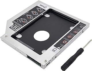 eWINNER 9.5mm Universal 2.5 2nd 9.5mm Ssd Hd SATA Hard Disk Drive HDD Caddy Adapter Bay For Cd Dvd Rom Optical Bay
