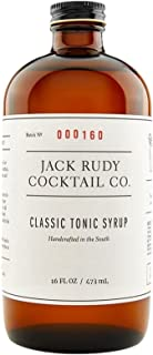 JACK RUDY COCKTAIL CO Classic Tonic Syrup 16 Fluid Ounces (1 bottle)