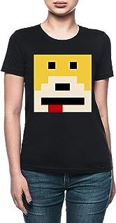 Vendax Señor Oizo - Plano Eric - Mojado Camiseta Mujer Negro