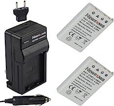 Newmowa EN-EL5 Replacement Battery (2-Pack) and Charger Kit for Nikon EN-EL5 Coolpix P530, P520, P510, P100, P500, P5100, ...