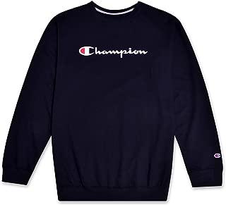 Mens Big and Tall Crewneck Logo Pullover Sweatshirt