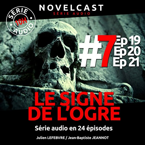 Le signe de l'ogre 7 audiobook cover art