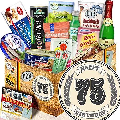 75. Geburtstagsgeschenke + Spezialitäten + 75 Geburtstag lustige Geschenke