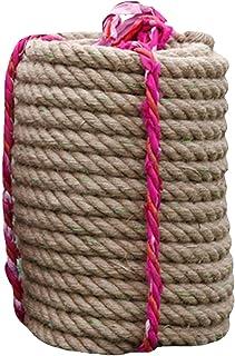 Gidenfly 10 m jute-rep hållbart naturligt jute klättring rep styrka träning rep strid rep stridsrep för bogsering av krigs...