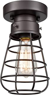Best retro industrial pendant lights Reviews