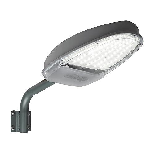 eoere 24W LED Street Area Lighting 2500lm 144 LEDS 6500K Dusk to Dawn Sensor Waterproof IP65