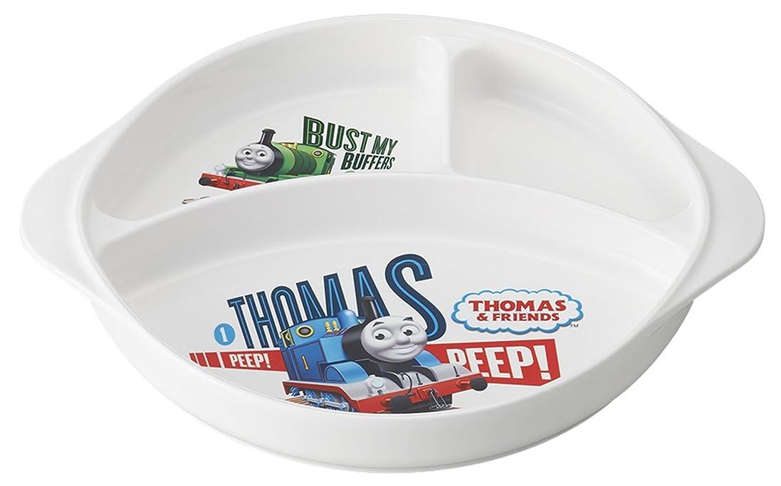 鉄道よろめく結紮オーエスケー きかんしゃ トーマス ランチ皿 持ち手付 CB-36
