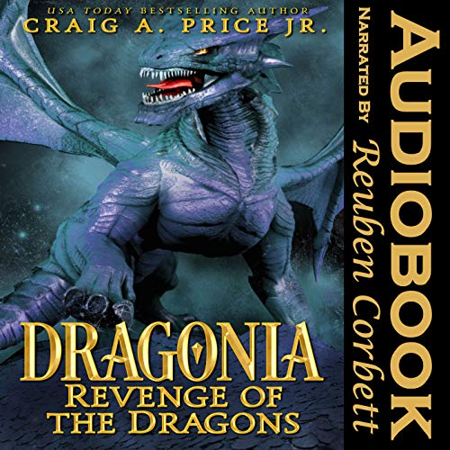 Dragonia: Revenge of the Dragons audiobook cover art
