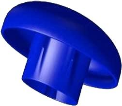 Notebook suppl/émentaire Lot de 8/Trampoline Bleu Capuchon pour barres filet de s/écurit/é /Ø 25/mm poteau partie
