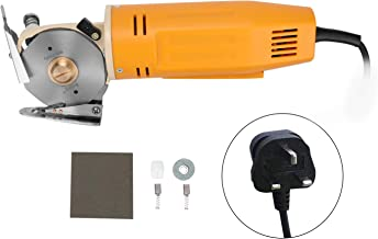 Anself WD-2 Handheld Portable Minishear 70mm Round Blade Electric Cloth Cutter Fabric Cutting Machine