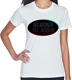 Real AUTOPILOTS Fly Airbus Women's Short Sleeve T Shirt