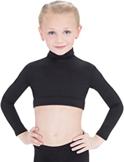 Capezio Girls' Turtleneck Long Sleeve Top