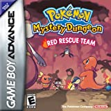 pokémon mystery dungeon: red rescue team (gba)