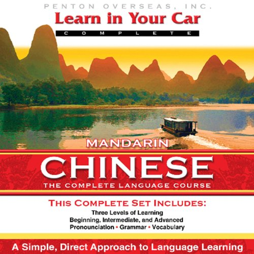 Learn in Your Car: Mandarin Chinese, Complete audiobook cover art