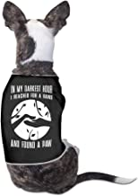 Newest In My Darkest Hour I Reached For A Hand Cool Dog Clothes Dog Sweater Coats Jackets