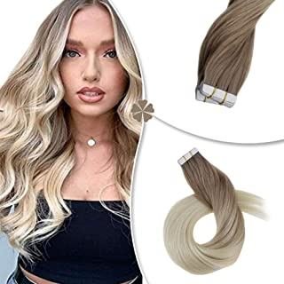 ash blonde ombre extensions