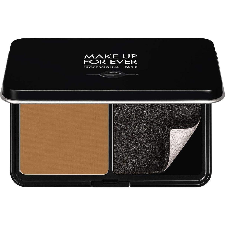 主張するフェードローラー[MAKE UP FOR EVER] パウダーファンデーション11GののY505をぼかし、これまでマットベルベットの肌を補う - コニャック - MAKE UP FOR EVER Matte Velvet Skin Blurring Powder Foundation 11g Y505 - Cognac [並行輸入品]