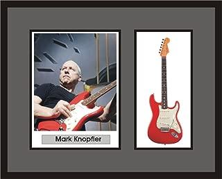MARK KNOPFLER Guitar Shadowbox Frame Dire Straits