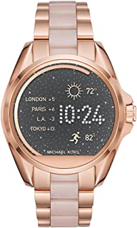 Michael Kors Women's 43mm Access Bradshaw Rose Goldtone Smartwatch