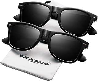 Polarized Sunglasses for Men Unisex 2pack - KEAKUO...