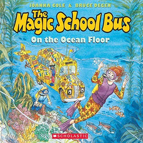 The Magic School Bus on the Ocean Floor audiobook cover art