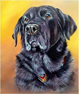 black lab cross stitch