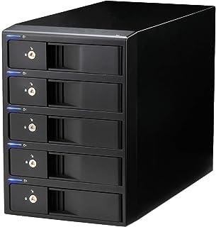 センチュリー 3.5インチHDD x 5台搭載可能ケース 『裸族の集合住宅5Bay SATA6G USB3.0&eSATA Ver.2』 CRSJ535EU3S6G2