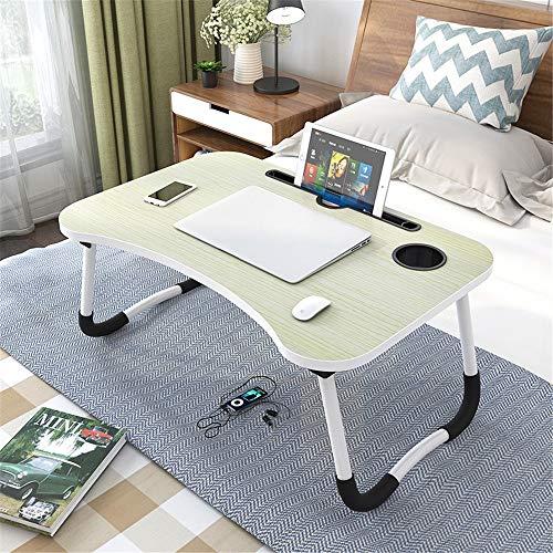 El escritorio plegable del ordenador Home Office Lap Desk escritorio del ordenador portátil multifunción portátil de mesa portátil Lap escritorio portátil bandeja de la tableta mesa de ordenador portá