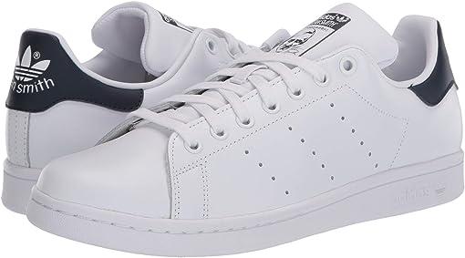 Footwear White/Footwear White/Collegiate Navy