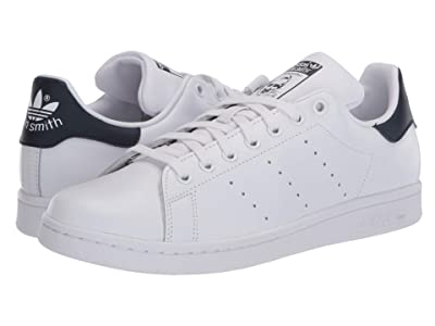 adidas Originals Stan Smith (Footwear White/Footwear White/Collegiate Navy) Women