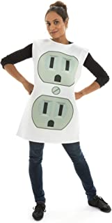 Sultry Socket One-Size Halloween Costume - Funny Adult Unisex Mascot Suit