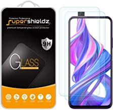 (2 Pack) Supershieldz for Huawei Honor 9X and Honor 9X Pro Tempered Glass Screen Protector, Anti Scratch, Bubble Free