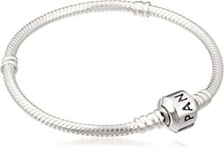 PANDORA Iconic Silver Charm Bracelet, Sterling Silver, 6.7 IN