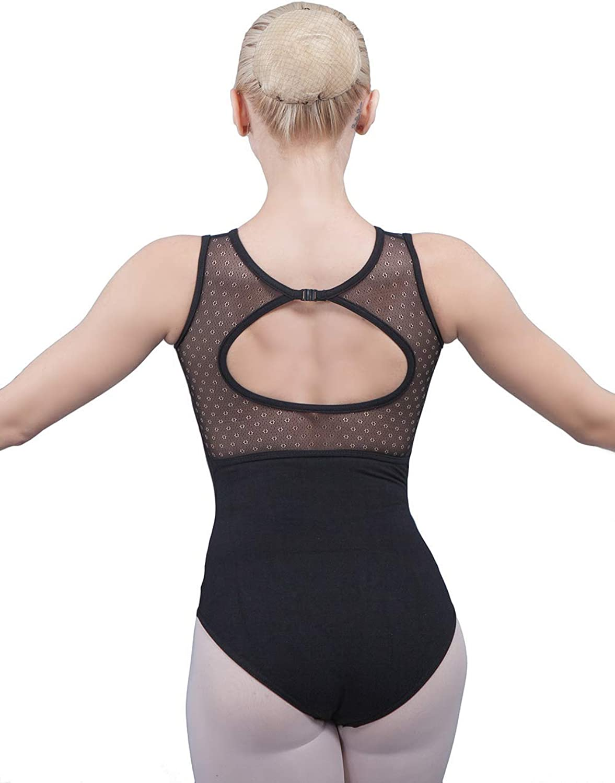 Dance Favourite Hollow Back Ballet Leotards Lace Adult Ballerina Dancewear for Women and Girls Gymnastics 01D0049