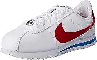 Nike Australia Cortez Basic SL Boys Trainers, White/Varsity Red-Varsity Royal-Black, 3.5 US