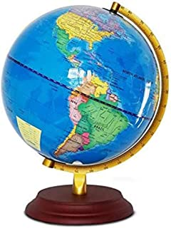 WHCQ World Globe Great for Kids And Adults, 10 Inch Desk Classroom Decorative Globe with Stand, Learning Education Teachin...